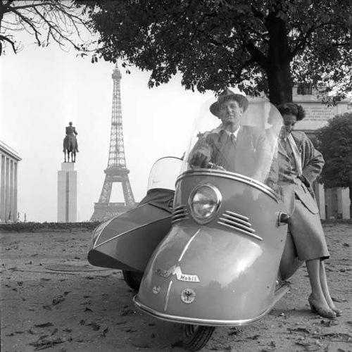 Maico Roller, Paris 1955