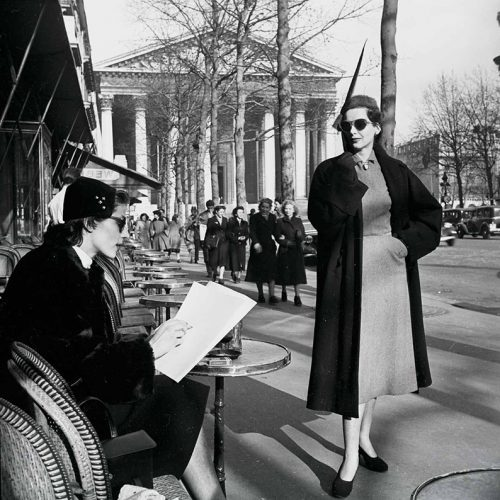 Mode, Paris 1955